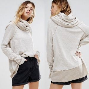 Free People Cocoon Cowl Neck